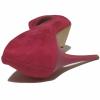 Fuşya Süet Stiletto Ayakkabı 4001