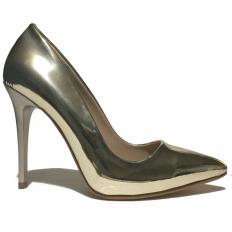 Gold Rugan Stiletto Ayakkabı 4001