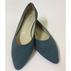 Yeşil Büyük Numara Bayan Babet Ayakkabı 8364
