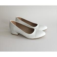 Beyaz Bayan Babet Ayakkabı 4040