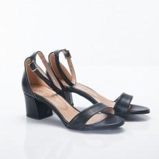 Siyah Bayan Sandalet 5050