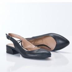 Siyah Sandalet Babet 4043
