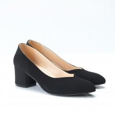 Siyah Süet Ayakkabı 700