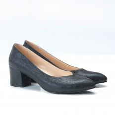 Büyük Numara Siyah Bayan Ayakkabı 700