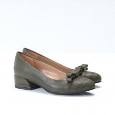 Haki Renk Bayan Ayakkabı 4545