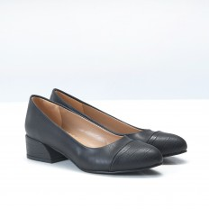 Siyah Bayan Babet Ayakkabı 4046