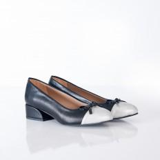 Fiyonklu Siyah Bayan Ayakkabı 4047
