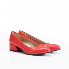 Kırmızı Bayan Babet Ayakkabı 4040