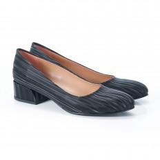 Gökkuşağı Siyah Kadın Ayakkabı 4040