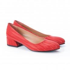 Gökkuşağı Kırmızı Kadın Ayakkabı 4040