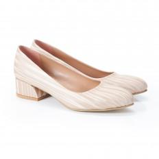 Gökkuşağı Ten Rengi Kadın Ayakkabı 4040