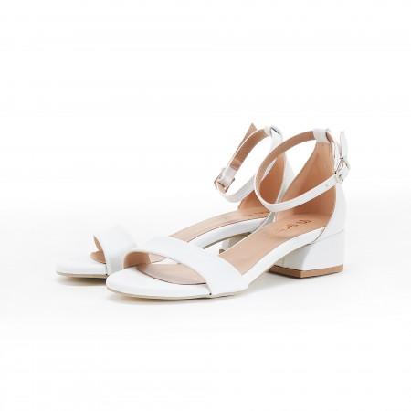 Beyaz Kadın Sandalet 5055