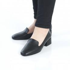 Siyah Bayan Babet Ayakkabı 7010