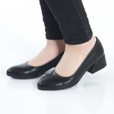 Siyah Bayan Babet Ayakkabı 4040