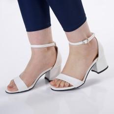 Beyaz Bayan Sandalet 5050