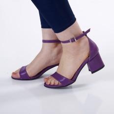 Mor Rengi Kadın Sandalet 5050