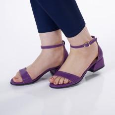 Mor Kadın Sandalet 5055