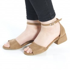 Camel Süet Sandalet 5060